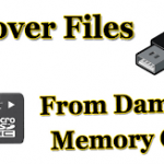 How to Data Recover Files from Corrupt USB and Memory Card